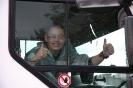 truck run Boxmeer, hebben  een paar knallers verkeer geregeld